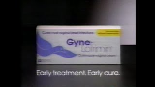 "1990's Commercial | Gyne-Lotrimin ""Early Treatment. Early Cure."""