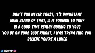 Bryson Tiller x Jazmine Sullivan - Insecure (Lyrics)