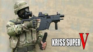 Automatic Gel Bullet Gun Kriss Super V (UNBOXING)