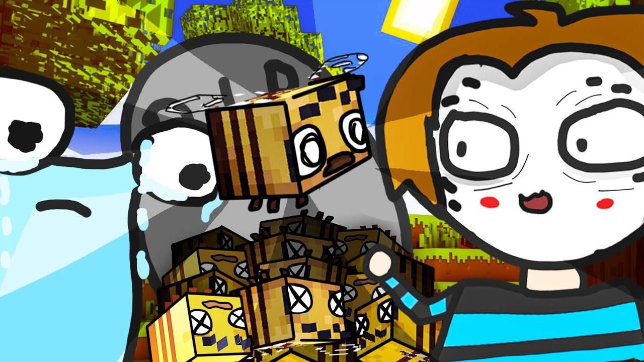 Maudado - Meine Feldwespen sind tot, Manu ist zurück und Kürbisse 「Minecraft: Master Builders」
