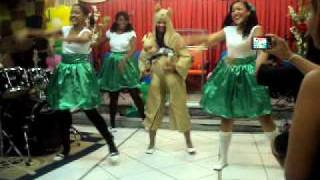Coreografia Dança do Canguru - Aline Barros