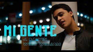 J.  Balvin, Willy William - Mi Gente (Cover by Aryaan Arora)