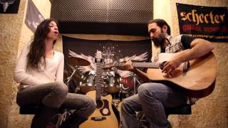 Elina & Jim - Through Glass (Stone Sour cover)