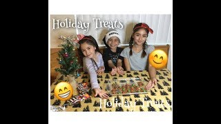 How To Make Quick & Easy Christmas Treats By: Alli & Laila G