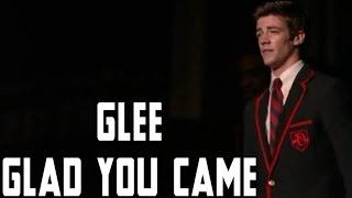 Glee -  Glad You Came (lyrics)