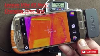 Lenovo Vibe K5 Note Charging Time Test With Thermal Camera Imaging width=