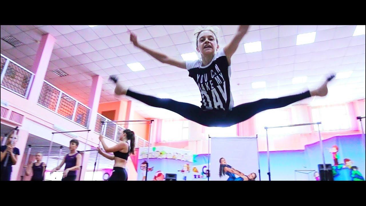 Клип: На летней танцевальной репетции
