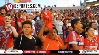 Sector Latino Chicago Fire 1-0 San Jose Earthquakes