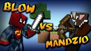"""""""Blow vs Mandzio""""- A Minecraft Original Music Video"""
