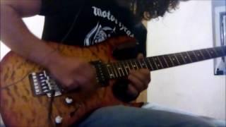 Dio - Rainbow In The Dark guitar solo cover