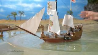Klocki Piraci Cobi STATEK PIRACKI Reklama TV