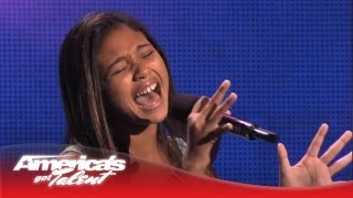 "Ciana Pelekai - Etta James ""I'd Rather Go Blind"" Cover - America's Got Talent 2013"