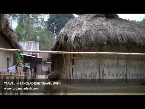 Beautiful Bangladesh Tripa Tribal village Srimangal Bangladesh Video
