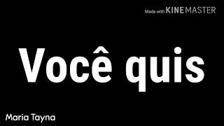MC Rita -Não era amor (Vídeo para status de 30 segundos)