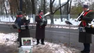 Russian band playing Indian national Anthem