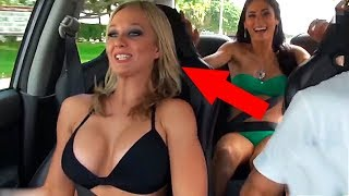 10 WEIRD MOMENTS CAUGHT ON DASHCAM