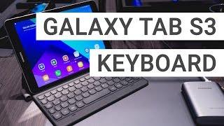 Samsung Galaxy Tab S3 Keyboard Cover: A closer look