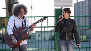 Baila Morena (Zucchero) cover Monica Vandelli e Alessandro Valzano - live