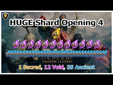 RAID: SL - HUGE Shard Opening 4