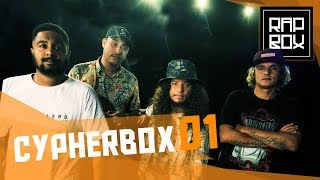 Making of  CypherBox - Diomedes Chinaski, Nissin, Baco Exu do Blues & Rapadura