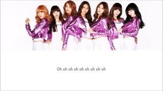 Get Out AOA Lyrics [ENG+ROM]