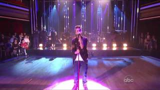 Justin Bieber ft. Boyz 2 Men - Fa La La - LIVE @ Dancing With The Stars - HD