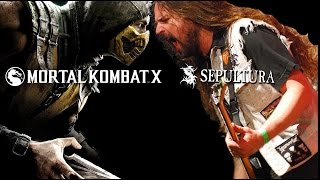 Mortal Kombat X Trailer (Sepultura Against )