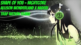 Alison Wonderland x Naderi - Shape of You (Cover)[NightCore]