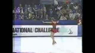 Oksana Baiul  1995 Hershey Kisses International Challenge  Exhibition