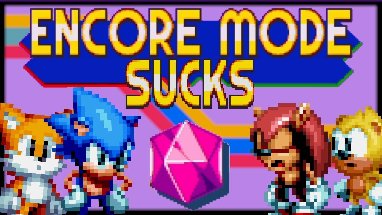 Garrulous64 - Sonic Mania Plus Encore Mode is BORING
