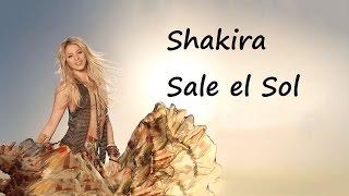 Shakira- Sale el Sol  tekst