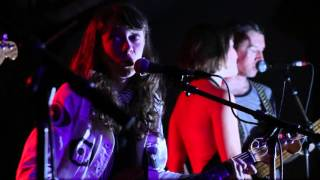 "Those Darlins - ""Then He Kissed Me"" Baby's All Right, NYC 3-17-16"