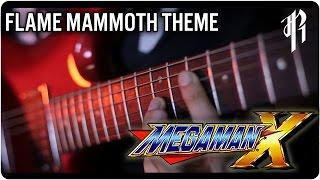 Mega Man X: Flame Mammoth - Metal Cover || RichaadEB