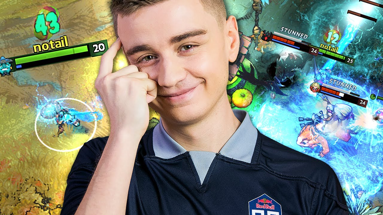 N0tail - N0tail found the PERFECT hero for Diretide