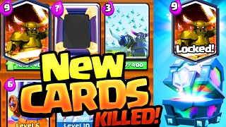 9 NEW Clash Royale Cards Supercell PLAYED and KILLED!