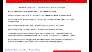 Difference Between Bean Factory And Application Context