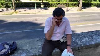 A Roma con il Prof. Massolo - La statua di Goethe