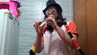 Take on me (na flauta zuada)