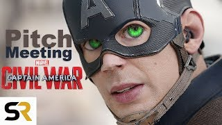 CAPTAIN AMERICA: CIVIL WAR Pitch Meeting - How It All Started