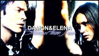 » stronger than I was | damon & elena.