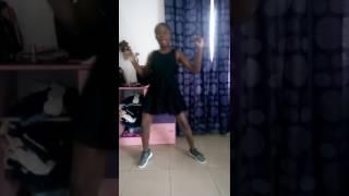 African girl dances juju on that beat