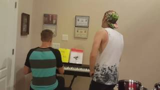 MEMPHIS MAY FIRE - CARRY ON (Acoustic/Piano IMPROV Cover)
