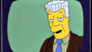 kent brockman welcoming our insect overlords