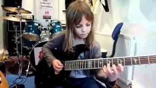 stratovarius cover (niña de 8 años)