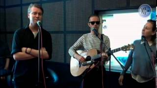 Blue Foundation 'Eyes on Fire' acoustic radio session.