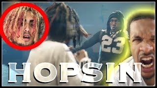 HOPSIN DISSING NEW RAPPERS!? THE PURGE  REACTION!