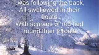 White Winter Hymnal lyrics