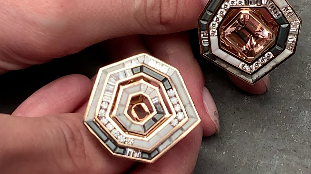 Stunning Rings from Jewelry Designer Tomasz Donocik in trending neutral tones.