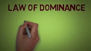 Principles of Genetics - Law of Dominance