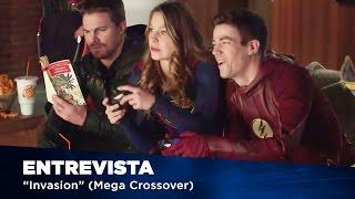 The Flash - Entrevista com o cast (Crossover - EW Photoshoot) [Legendado - PT-BR]